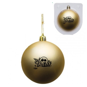 Custom Christmas Ornament - Shatterproof - Gold