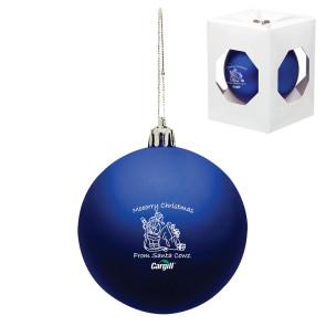 Custom Christmas Ornament - Shatterproof - Blue