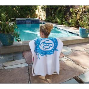 Small White Beach Towel (Screen Print)
