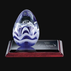 Astral Art Glass Award on Albion Base