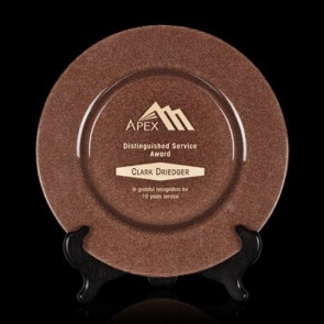Granby Award Plate  - 13 in. Bronze