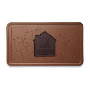 Custom Logo Chocolate Combo Bar Two Tone Milk & Dark  -2lbs