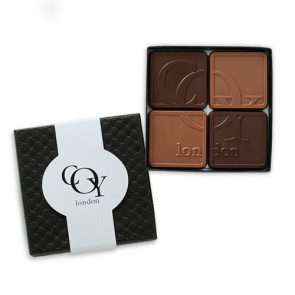 Chocolate Assortment with Gift Lid 4-Piece