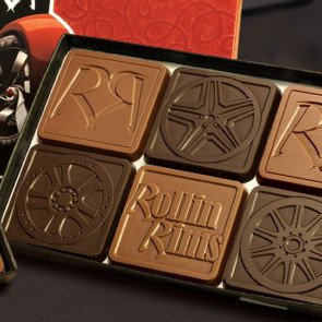 Chocolate Assortment with Gift Lid 6-Piece