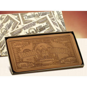 2lb Thanks a Million Bar-Printed Lid - Stock