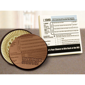 Bite Back at the IRS Chocolate Cookie  2pk Box