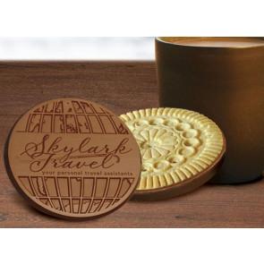 Chocolate Logo Sugar Cookies - Individual Cookies