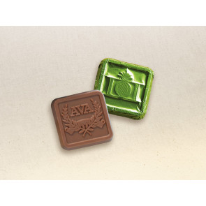 Custom Chocolate Foil Squares