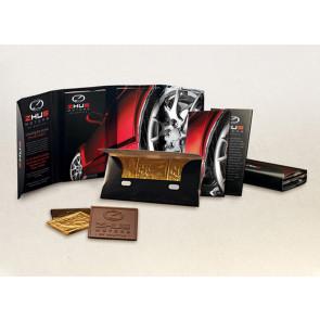 Deluxe Chocolate Trio Wallet (1  Design)