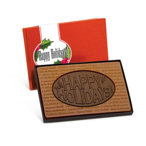 Happy Holiday Chocolate Combo Bar - Stock