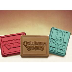 Custom Chocolate Foil Rectangles