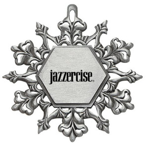 Snowflake Pewter Finish Ornaments