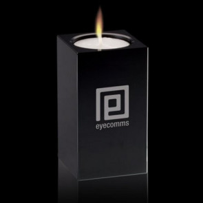 Perth Candleholder - Black 3 1/2
