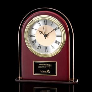 Adriana Clock - Sepia/Rosewood 6