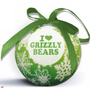 Snowflake Shatterproof Ornament with Logo Imprint- Green