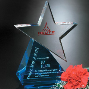 Azure Star Award 8 in.