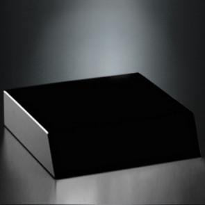 Black Glass Base 5 x 5 x 1-1/4
