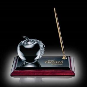 Apple on Albion Pen Set - Gold