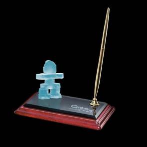 Inukshuk Penholder - Albion with Gold Pen