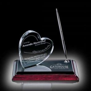 Heart on Albion Pen Set - Chrome