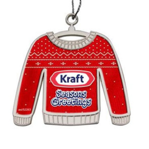 Ugly Sweater Ornament - Die Cast
