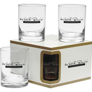 Executive Double Old Fashion Glasses - Premium Set 14 oz.