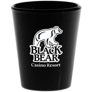 Black Shot Glass 1.75 oz.