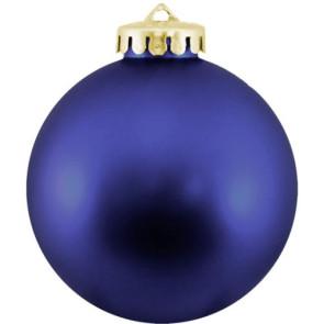 Christmas Ball Ornaments Shatterproof - Blue