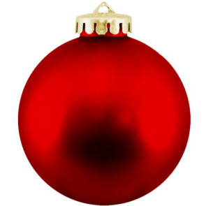 Christmas Ball Ornaments Shatterproof Plastic - Red Ornaments