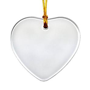 Acrylic Suncatcher Ornament Shape with Imprint
