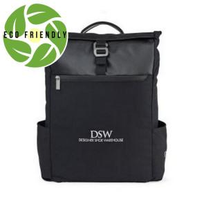 Charlie Cotton Computer Backpack Black