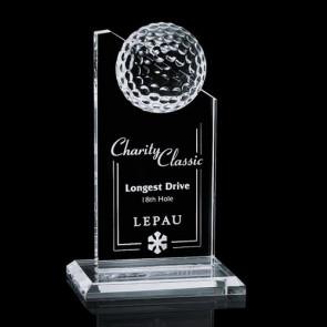 Ashfield Golf Award - Optical 6 in.