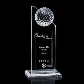 Ashfield Golf Award - Optical 8 in.