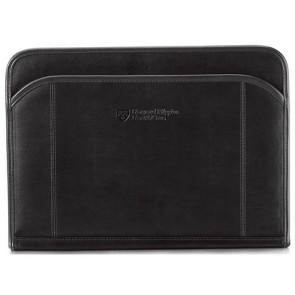 Global Leather Padfolio - Black