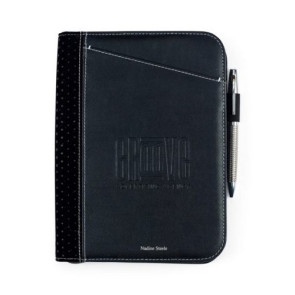 Cedar Junior Padfolio Black
