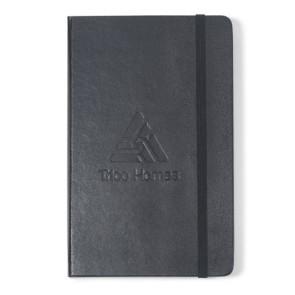 Moleskine  Hard Cover Squared Large Notebook - Black