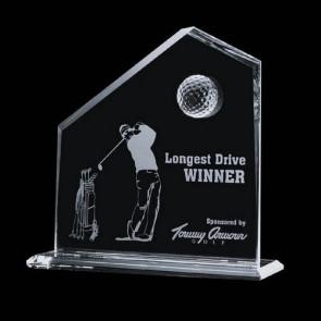 Andover Golf Award - 8 in. x  8 in.