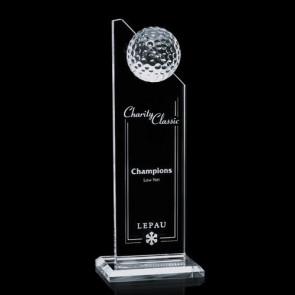 Ashfield Golf Award - Optical 10 in.