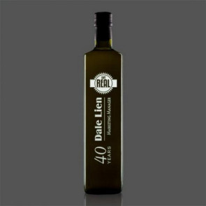 Giglio DOP Extra Virgin Olive Oil Engraved Bottles
