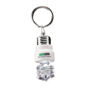 Light Up Light Bulb Keytag