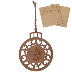 Wood Ornament - Round Ornament