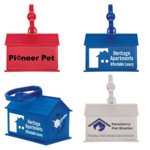 Dog House Waste Bag Dispenser