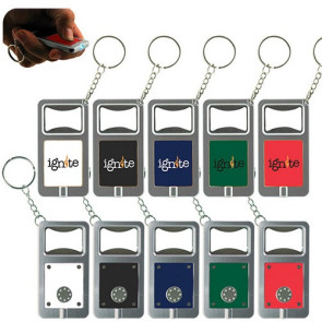 LED Keytag w/Bottle Opener