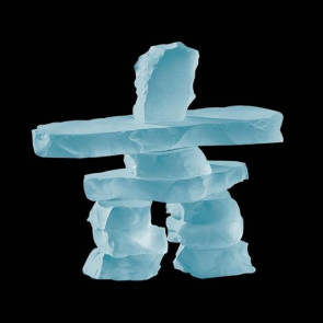 Inukshuk - Frosted 3.5 in.