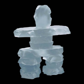 Inukshuk - Frosted 7.5 in.