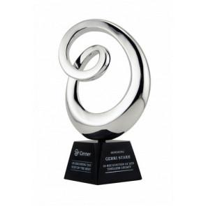 Genesis Black Granite and Chrome Award