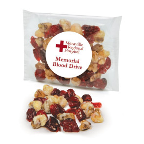 Cranberry Walnut Trail Mix  in a Cello Pouch