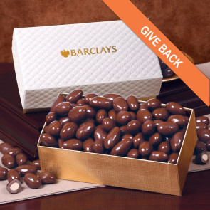 Pillow Top Gift Boxes - Chocolate Covered Almonds