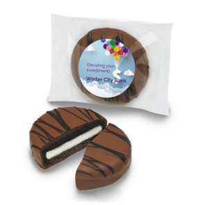 Milk Chocolate Covered Oreo Cookie Individually Wrapped