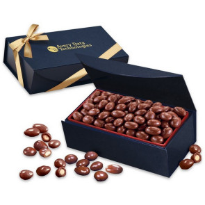 Chocolate Covered Almonds in Magnetic Gift Box